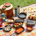 お庭ピクニックにもぴったり。人気のメスティンがあれば、